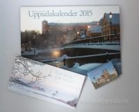 Julklapp med kalender, magnet & kort