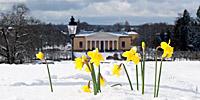 Vykort Uppsala påsk